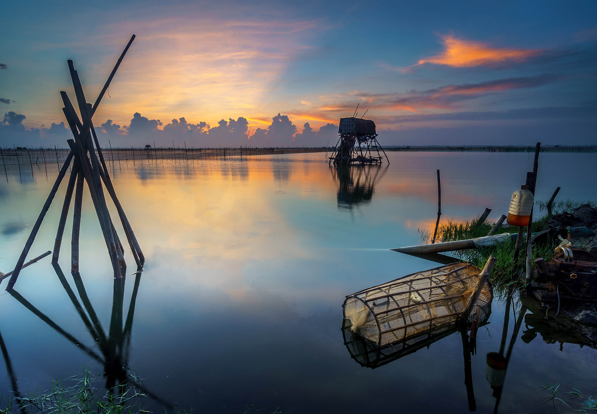 Photograph Morning in Chuon lagoon by Pham Ty on 500px