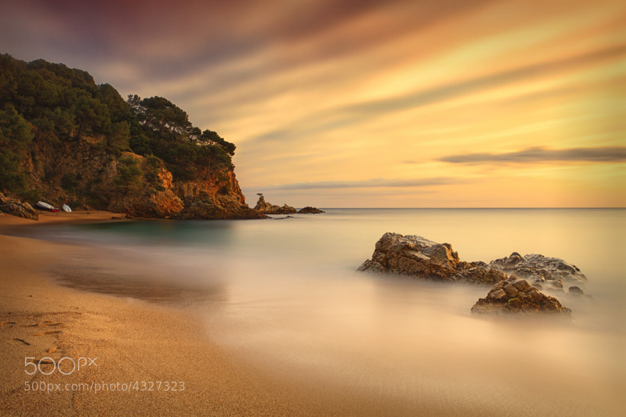 Photograph Cala Canyelles by Geoffrey Gilson on 500px