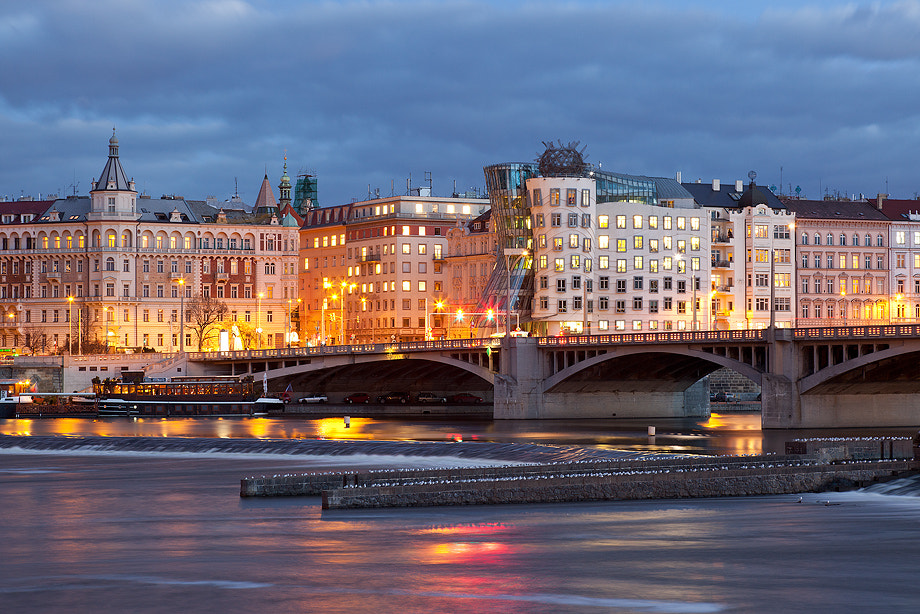 Photograph Prague and the Dancing House by Claudio Coppari on 500px