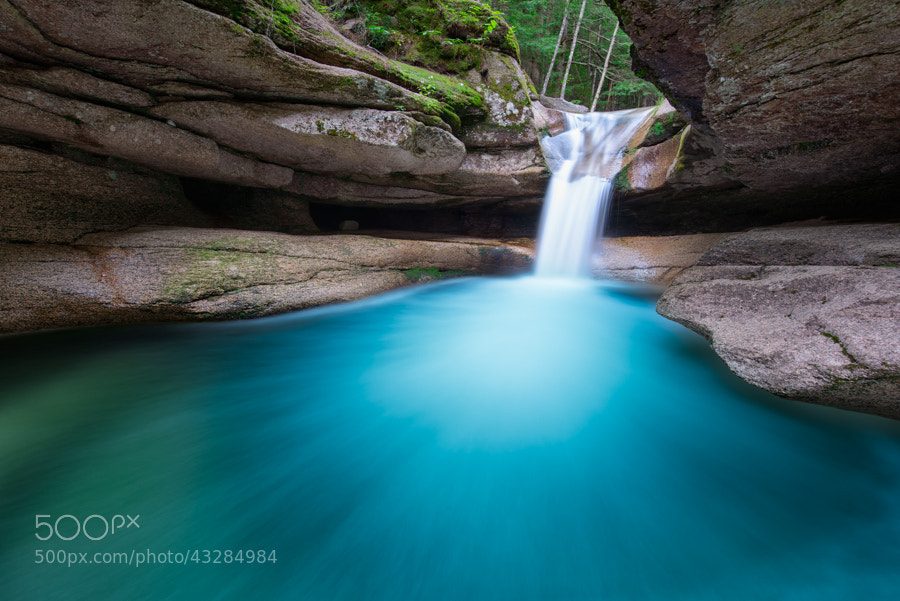 Photograph Teal Punchbowl by Michael Blanchette on 500px