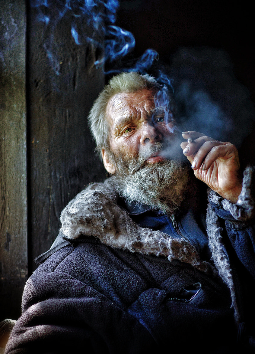 Photograph Altaian old man by Roman Mordashev on 500px