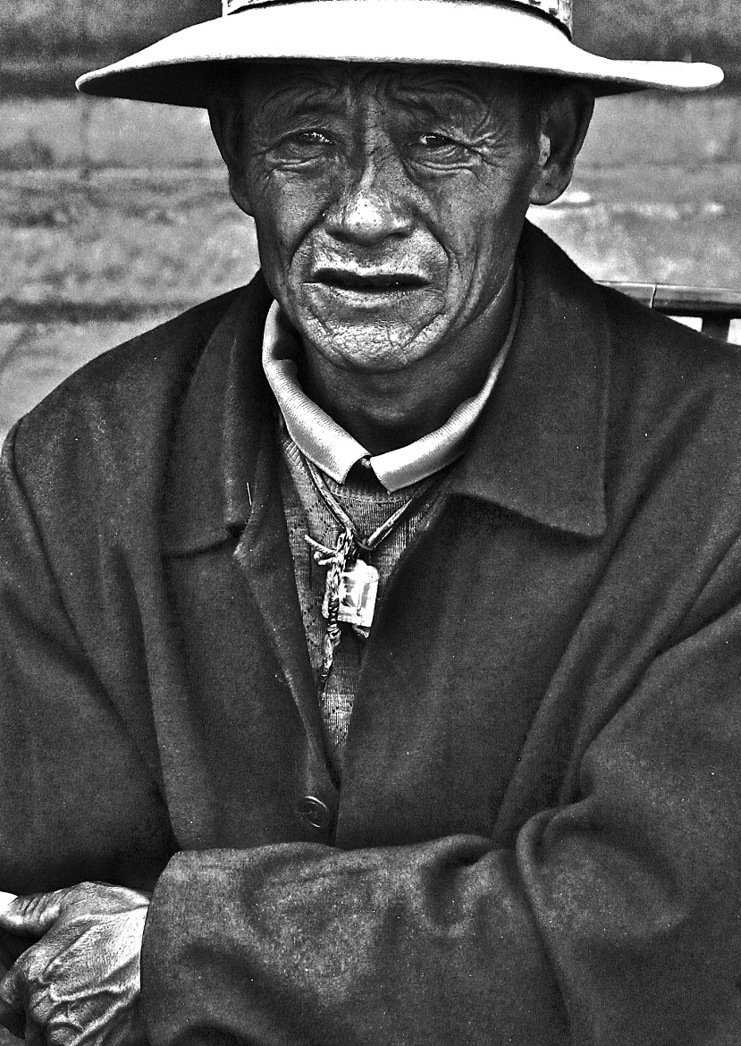 Photograph yak meat vendor by Sean  Blacknell on 500px