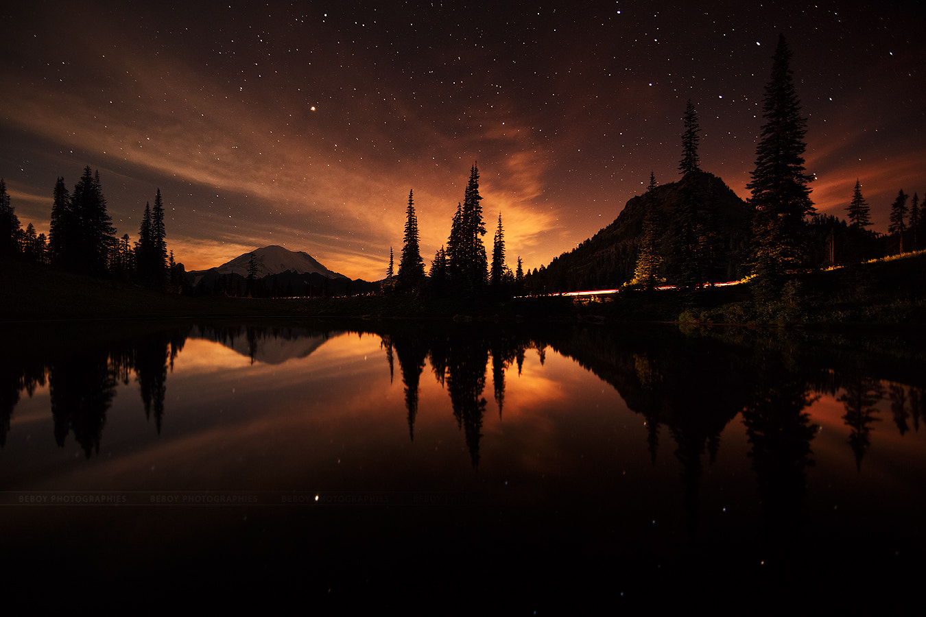 Photograph Midnight sunset by Beboy Photographies on 500px