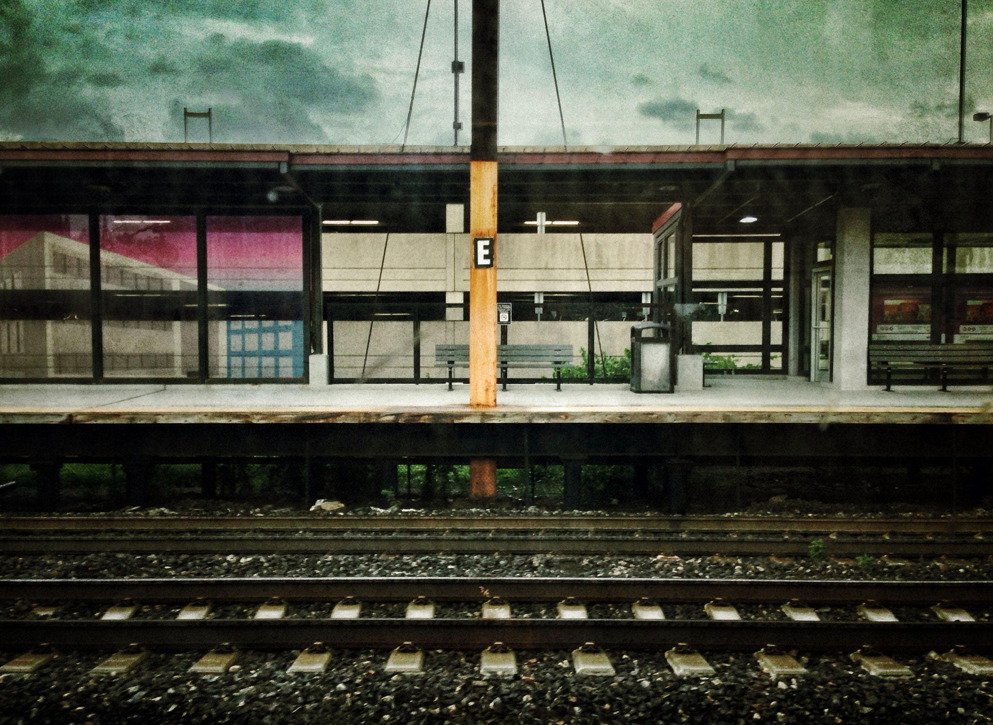 Photograph Train station by Teelip Lim on 500px
