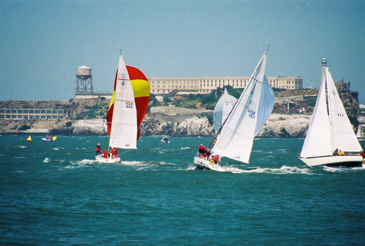 Photograph Alcatraz Sailboats by Chuck Walker on 500px