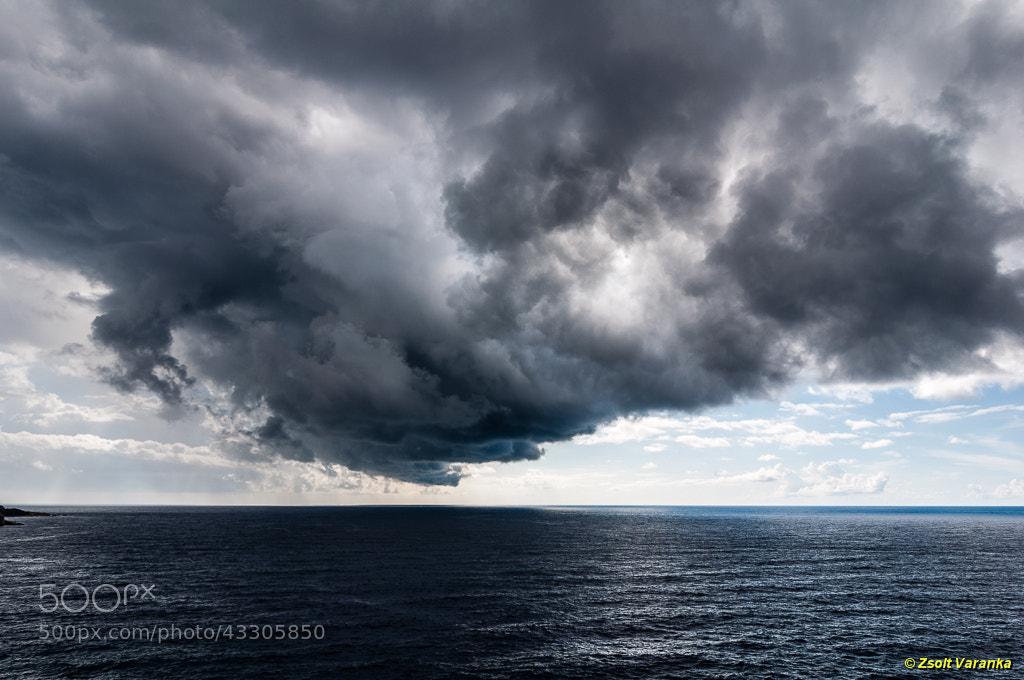 Photograph storm from the sea... by Zsolt Varanka on 500px