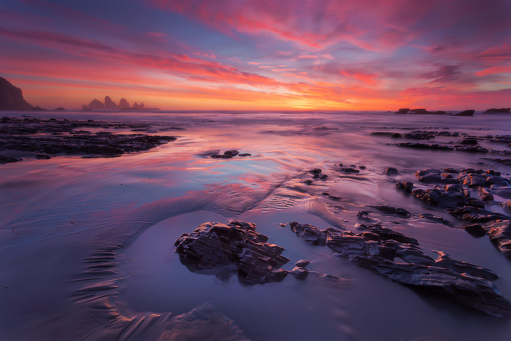 Photograph 12 mile glow by Dylan Toh  & Marianne Lim on 500px