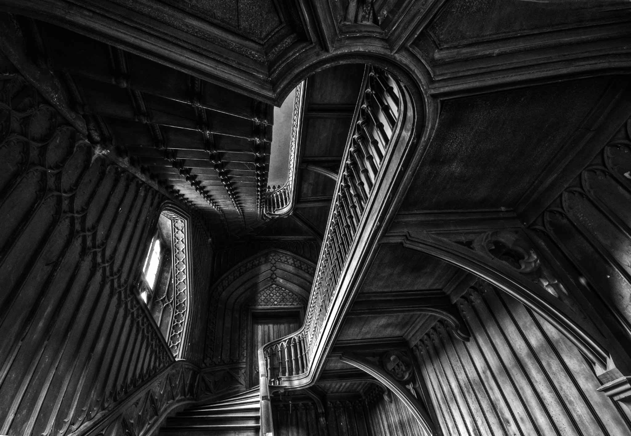 Photograph Harriet's Staircase - looking up by Adrian Sadlier on 500px