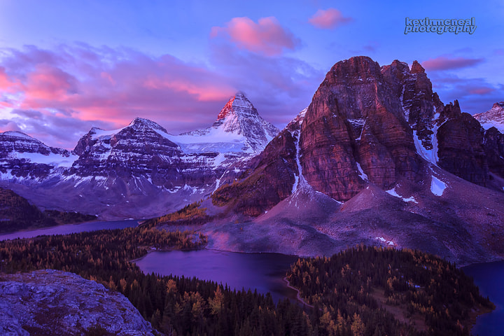 Photograph Mount Assiniboine Sunrise by Kevin McNeal on 500px