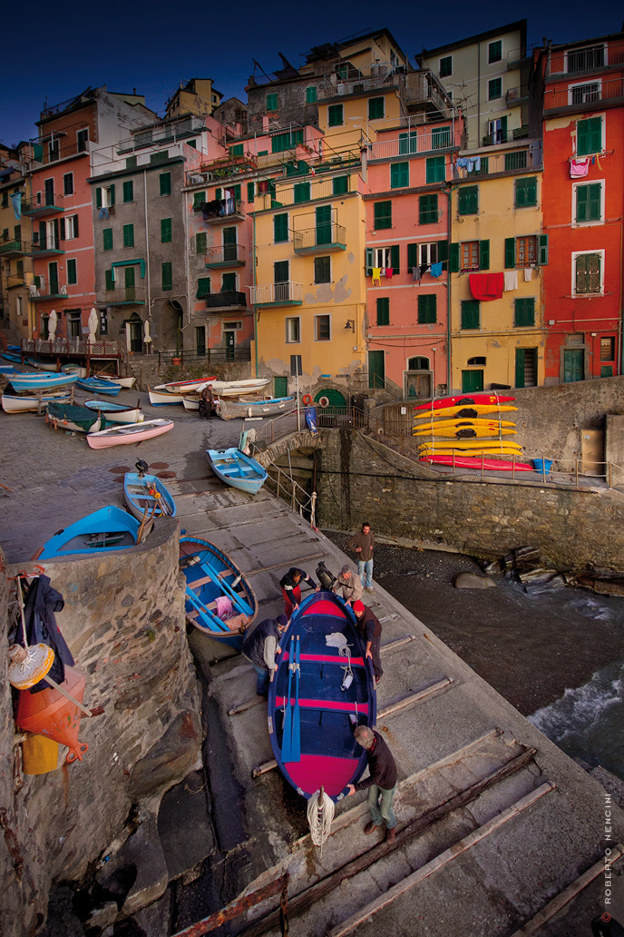 Photograph Le Cinque Terre, fishermen...strong life... by Roberto Nencini on 500px