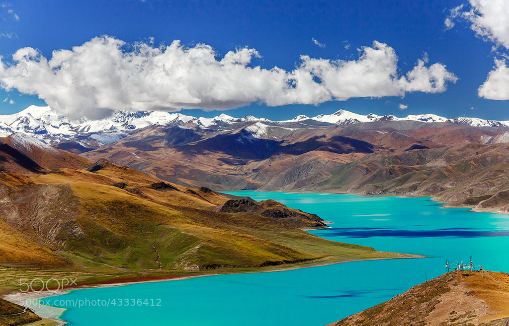 Photograph Yamdrok Lake (1) by Harrison Zhao on 500px