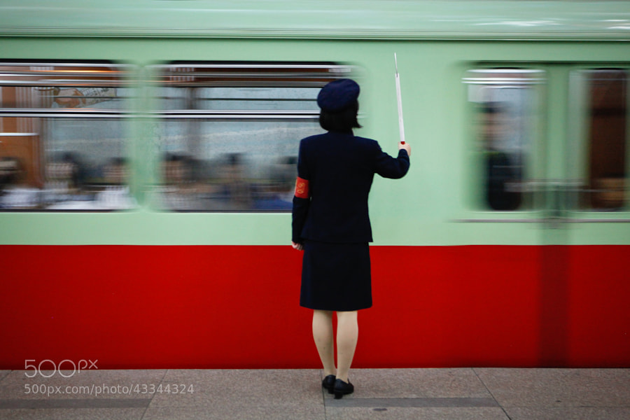Photograph Train conductor by Kristen Elsby on 500px