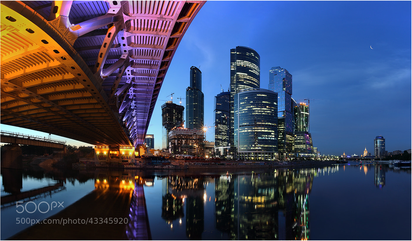 Photograph Bridges and sky-scrapers by Victoria Ivanova on 500px