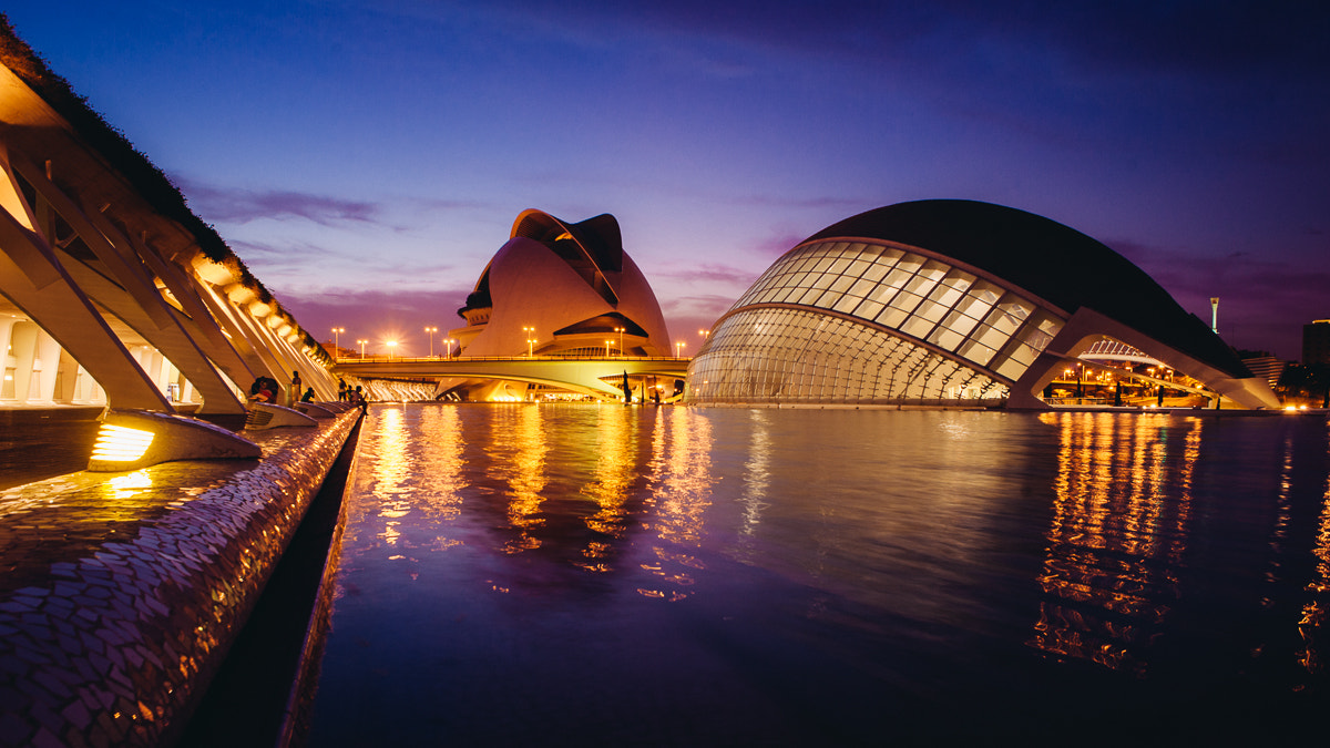 Photograph The City of Arts and Sciences I. by Tomas Pospichal on 500px