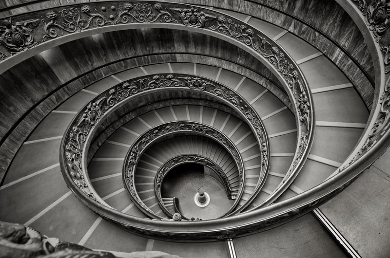 Photograph Vatican Stairs by Michael Siward on 500px