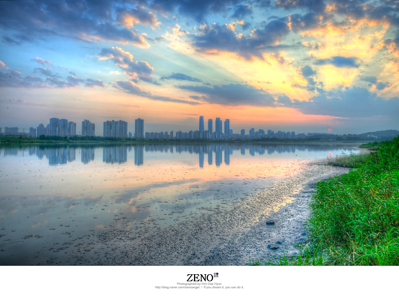 Photograph Incheon Songdo Sunset by Kim DaeHyun on 500px