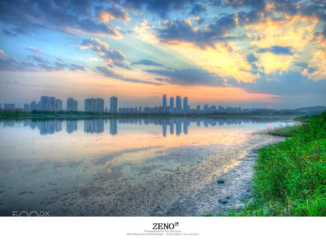 Photograph Incheon Songdo Sunset by Kim DaeHyun on 500px