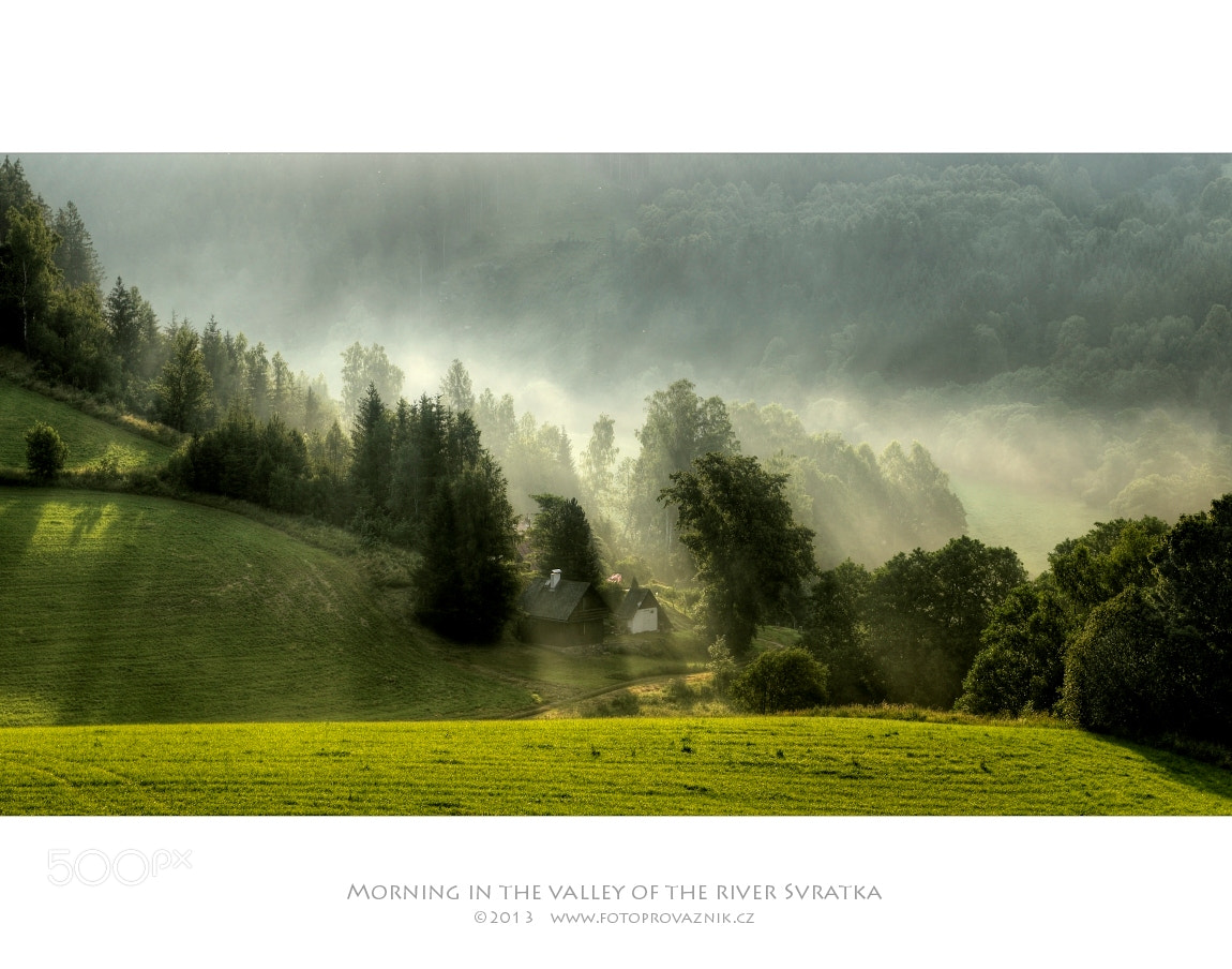 Photograph Morning in the valley of the river Svratka by Jaroslav Provaznik on 500px