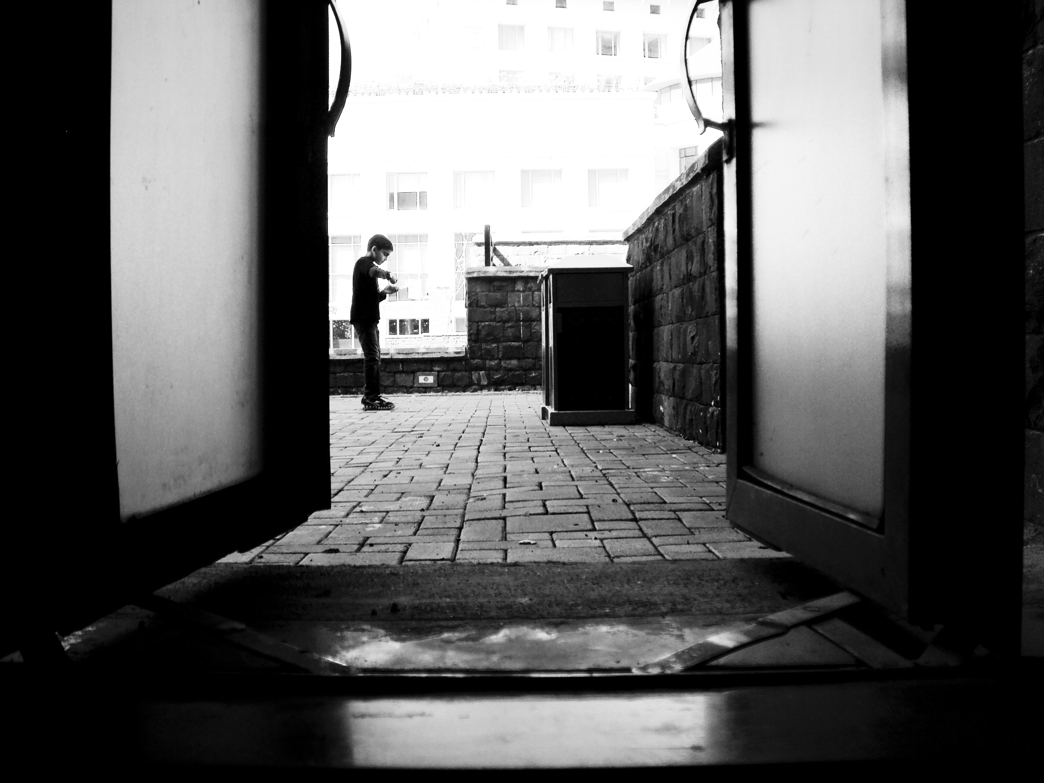 Photograph beyond that secret door, I am free... by ARITRA SEN on 500px