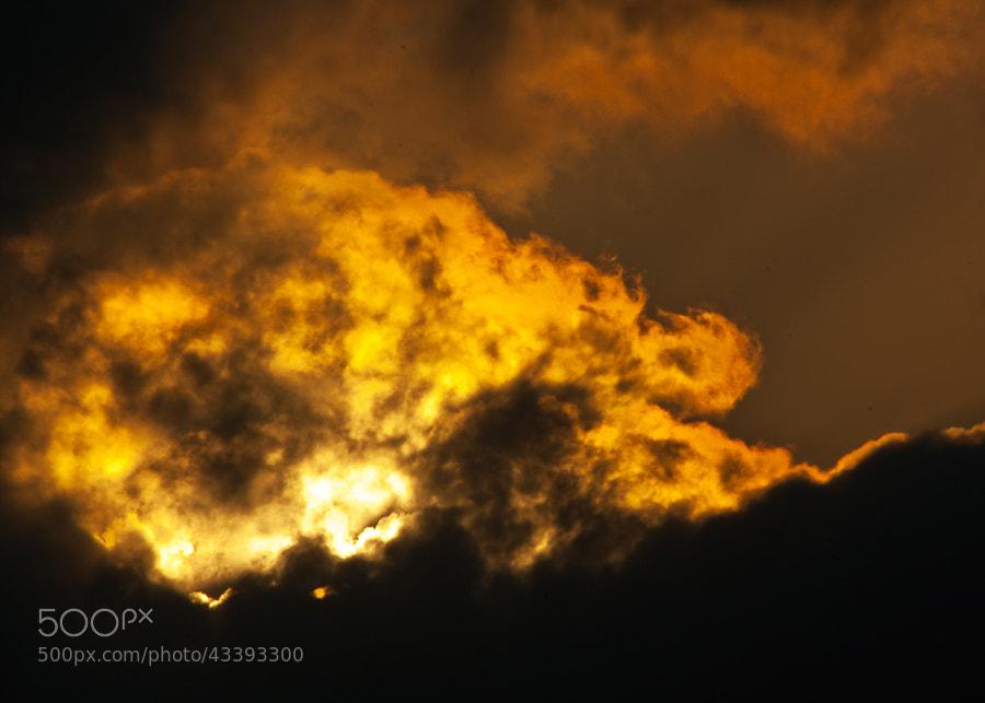 Sky or Volcano