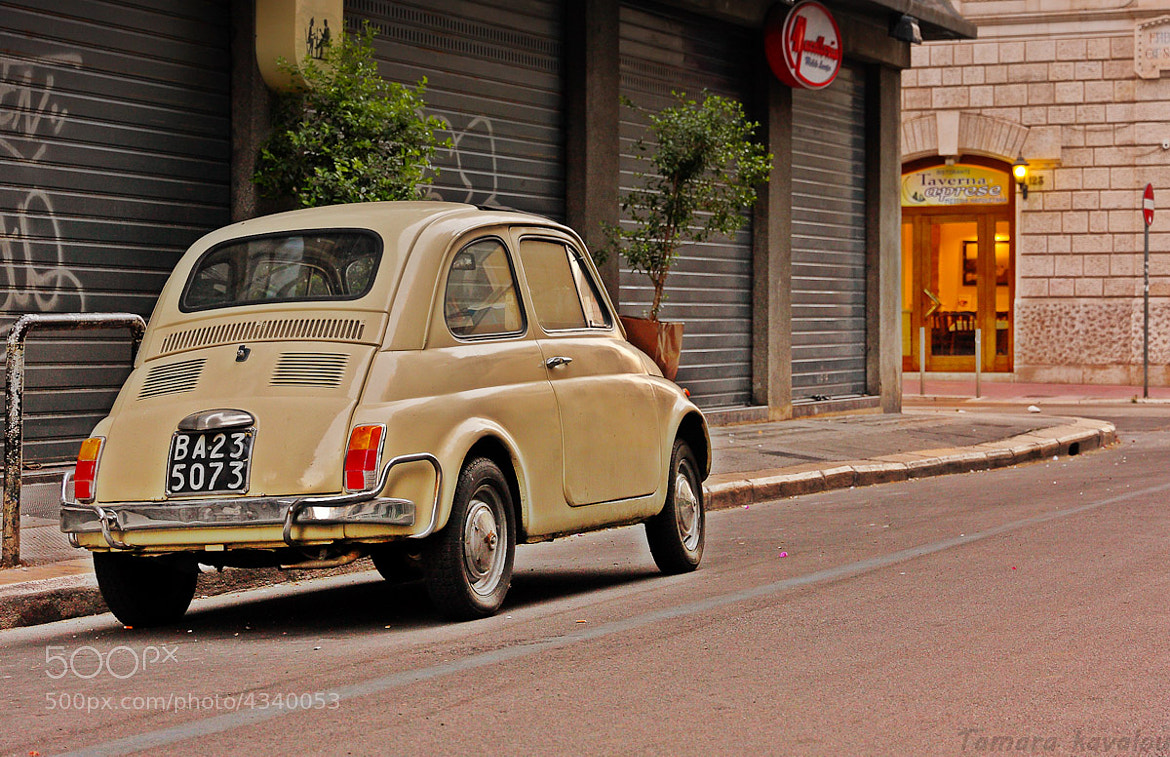 Photograph fiat 500 by Tamara Kavalou on 500px