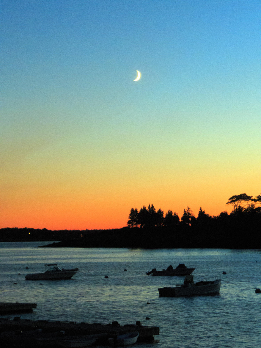 Photograph Sunset, Moonrise by Amy Hoey on 500px
