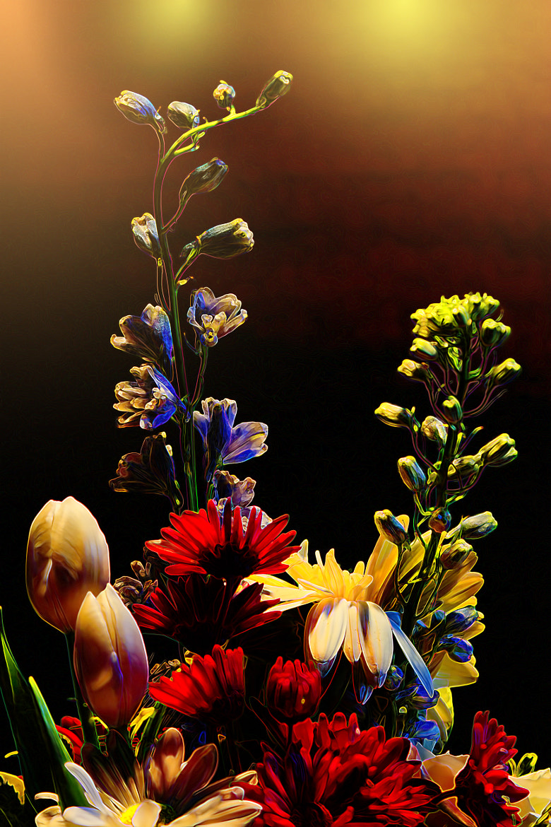 Photograph Floral Incandescence by Bill Tiepelman on 500px