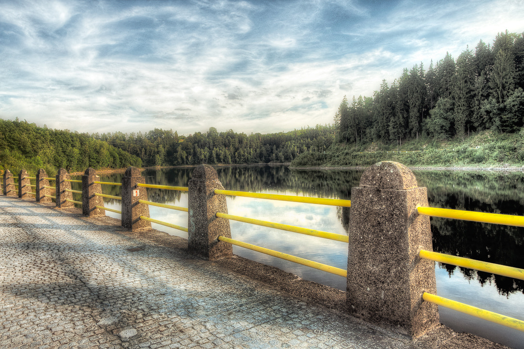 Photograph Dam on the Zlotniki lake by Sebastian Rudnicki on 500px