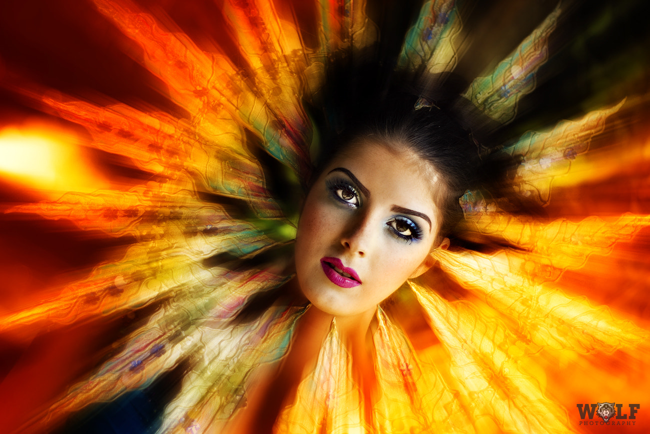 Photograph Goddess of Fire by wolf  on 500px