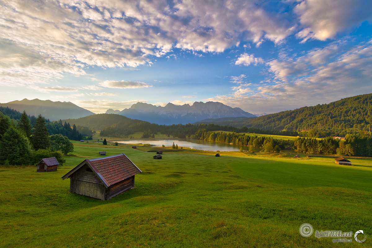 Photograph Geroldsee and Karwendel by Marc A. Hohenleitner on 500px