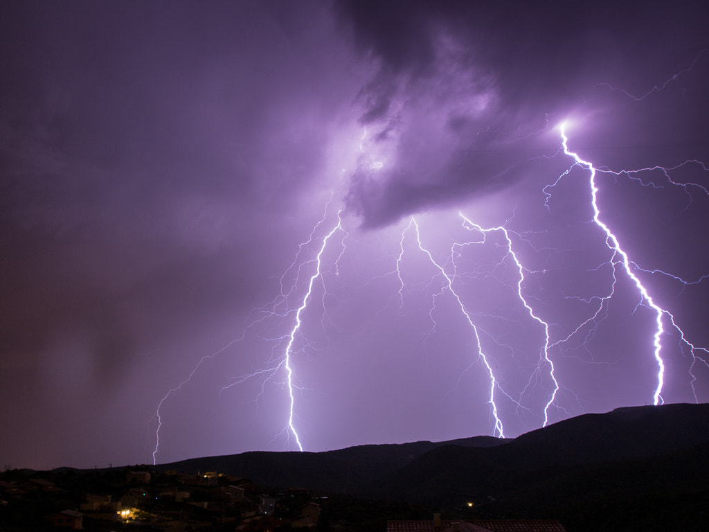 Photograph Thunderstorm, El Garraf by Keith Muir on 500px