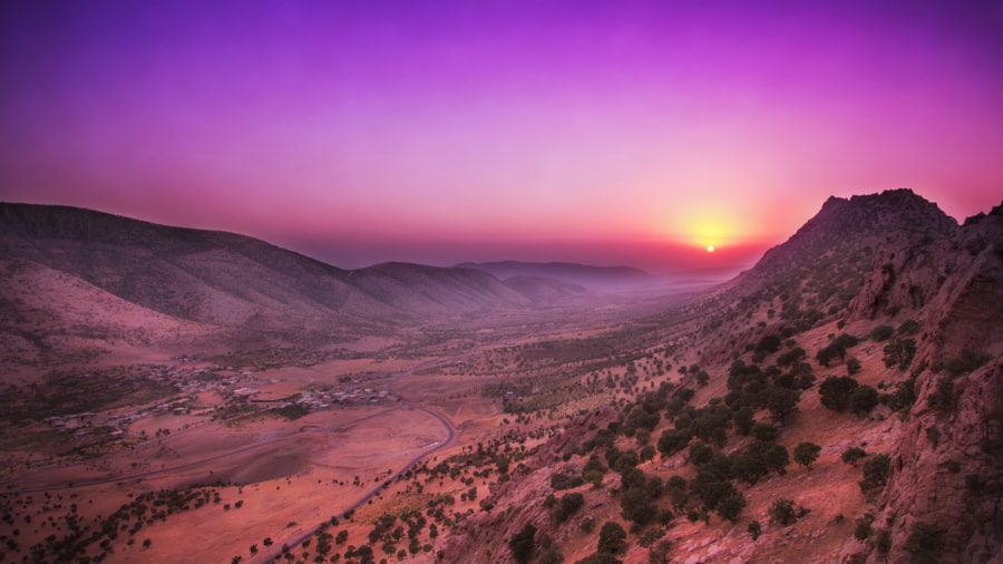 sunset by Yarb Talal Victor on 500px.com