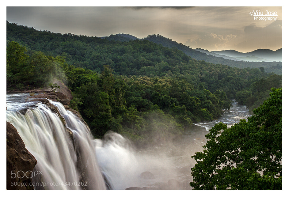 Photograph Athirapalli Falls by Viju Jose on 500px