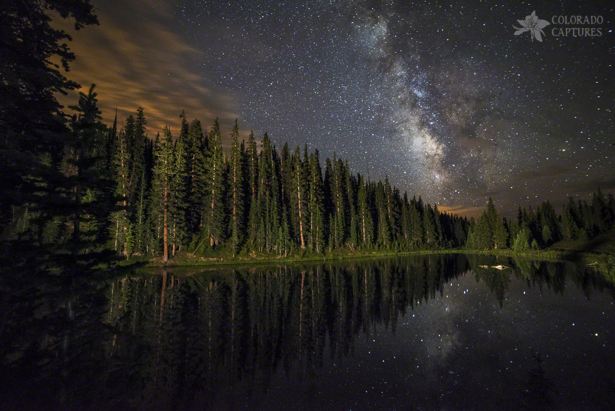 Photograph Lake Irene's Milky Way Mirror by Mike Berenson on 500px