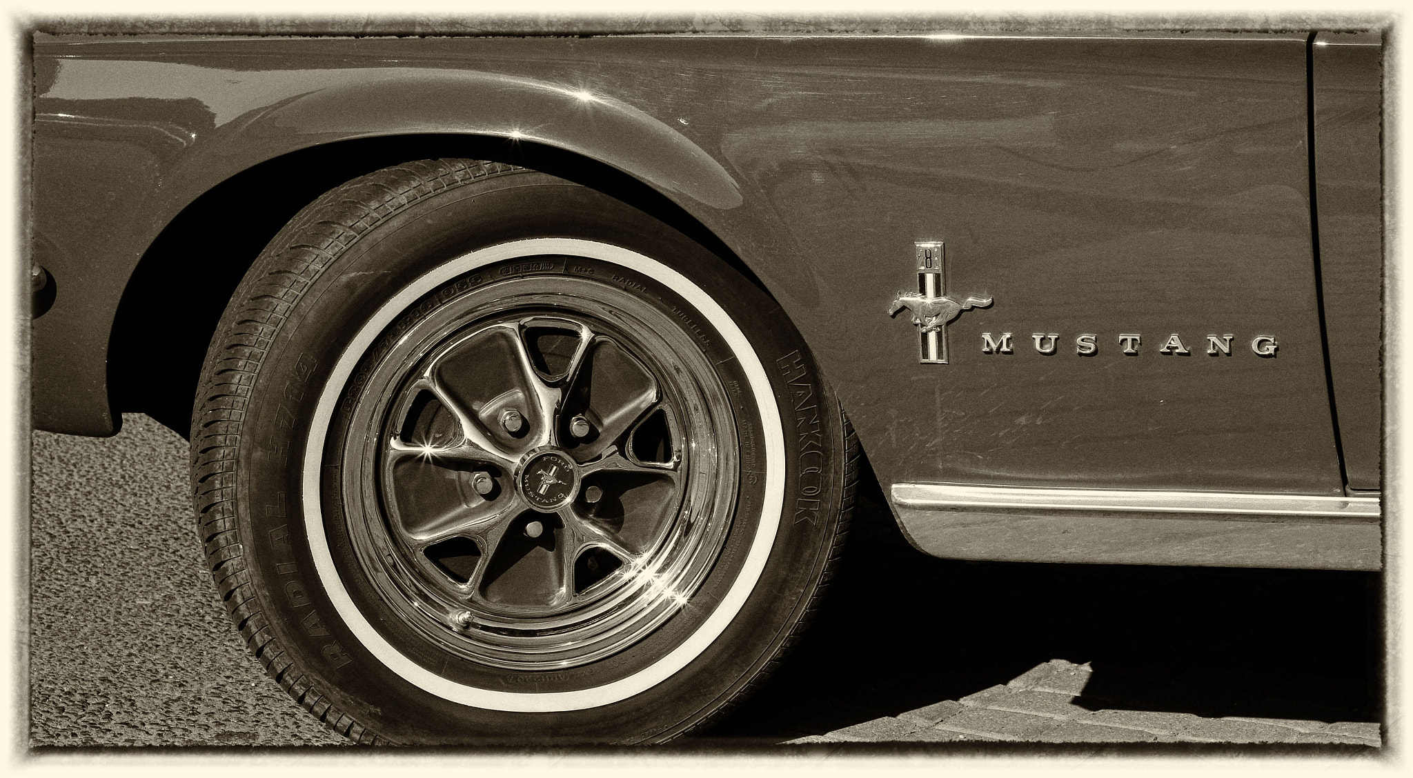 Photograph Mustang wheel by András Herceg on 500px