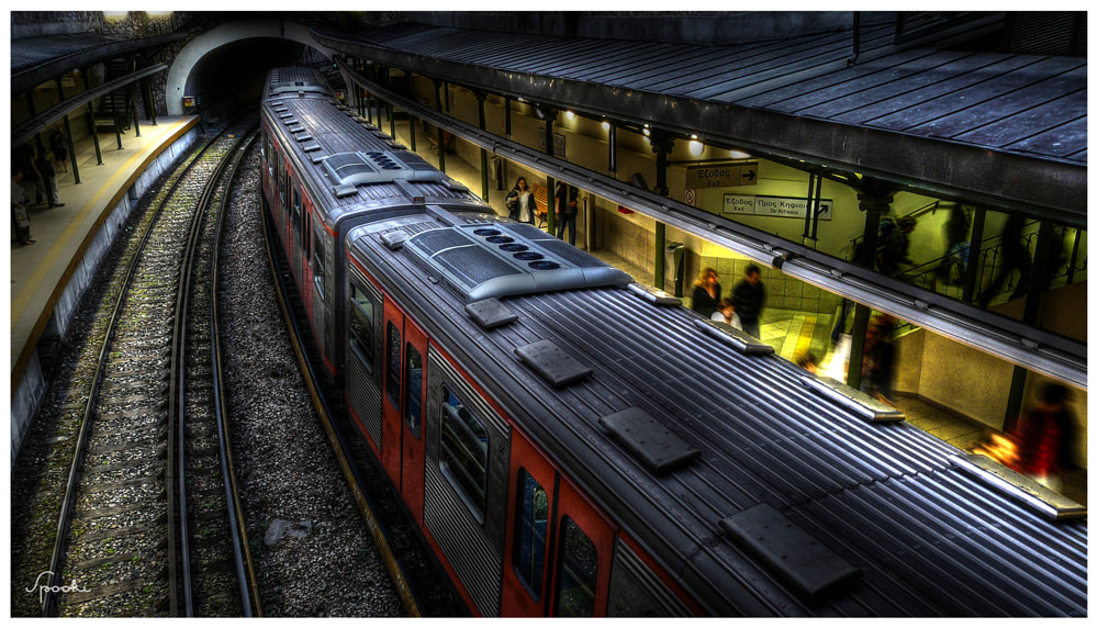 Photograph Subway by Spooki  on 500px
