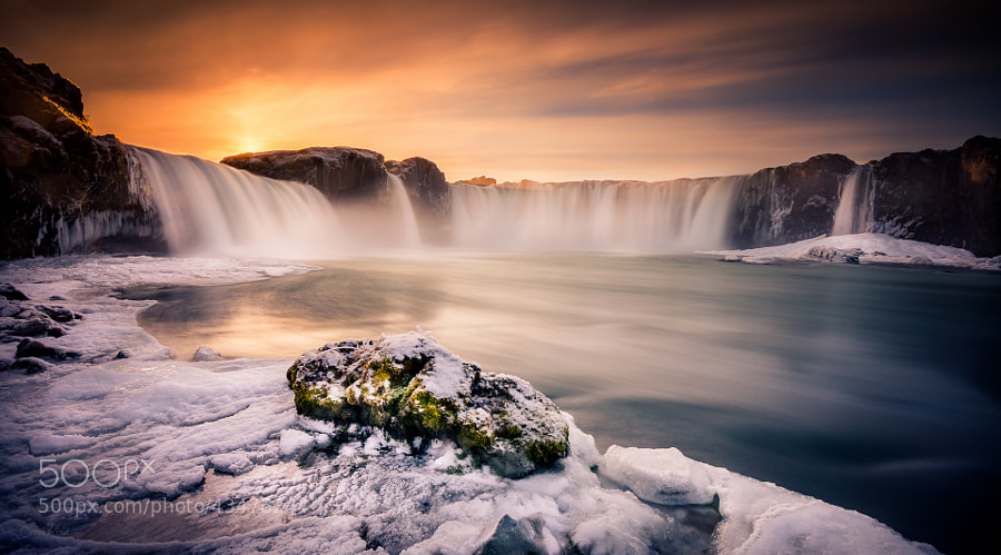 Photograph Heavenly Goðafoss by Derek Kind on 500px