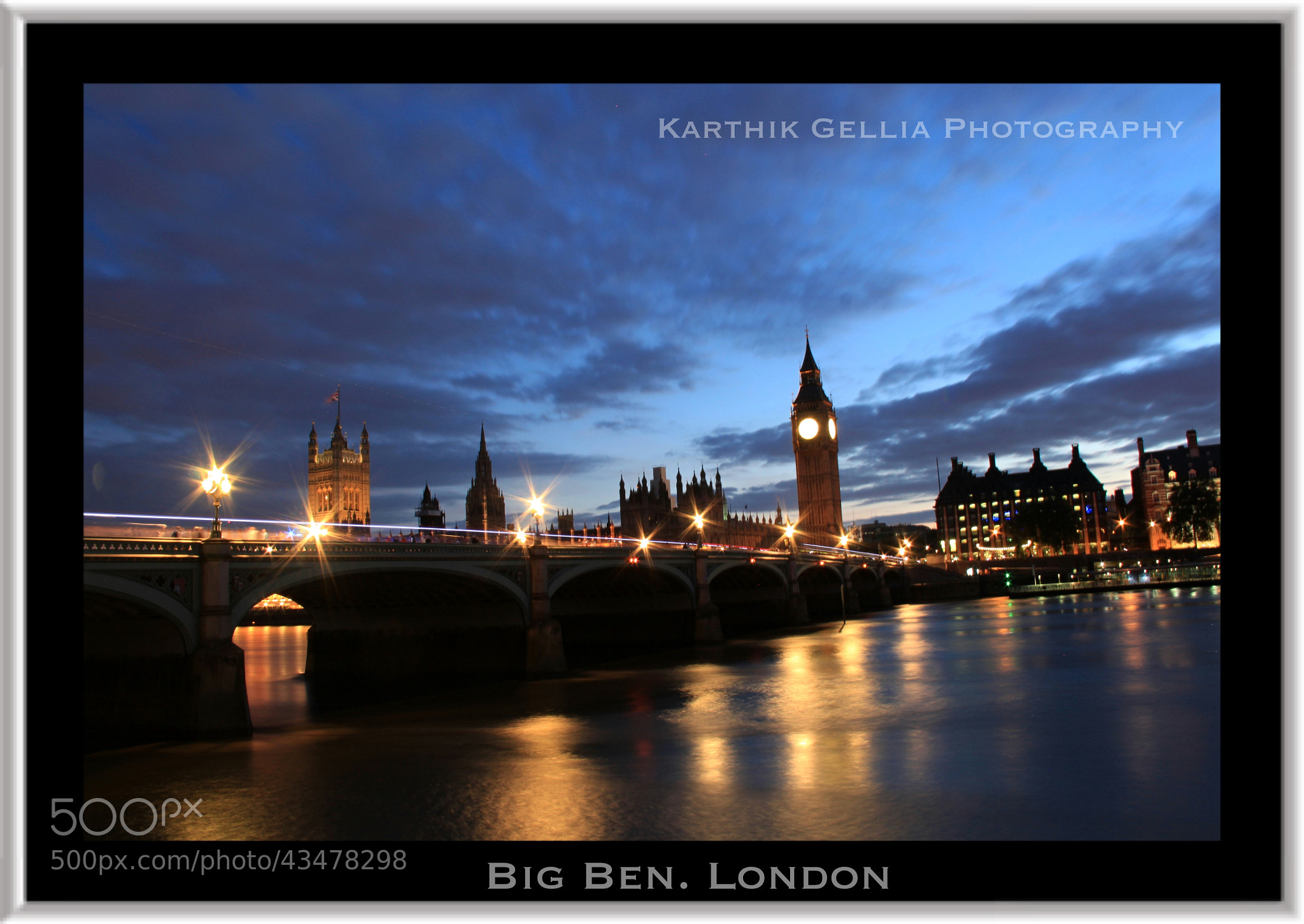 Photograph Big Ben, London by Karthik Gellia on 500px