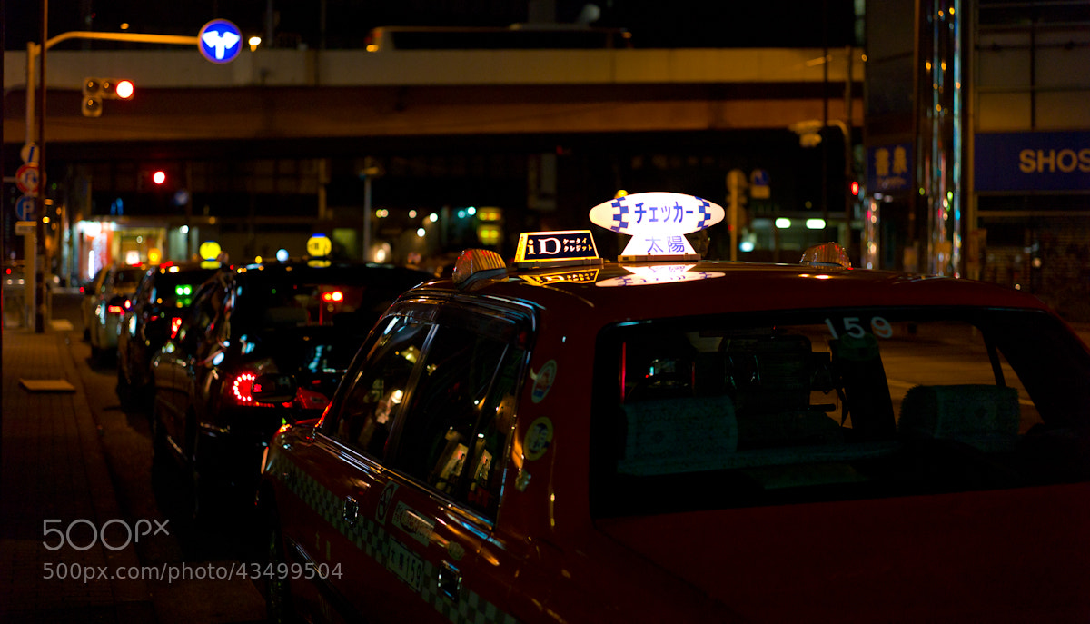 Photograph Akiba taxi by Sven Doublet on 500px