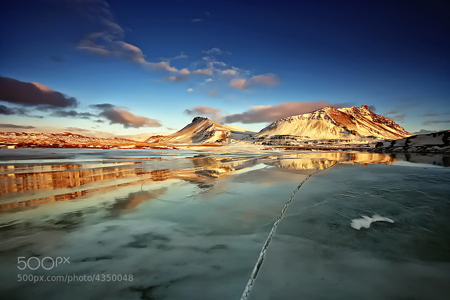 Photograph Frozen Reflection by Þorsteinn H Ingibergsson on 500px