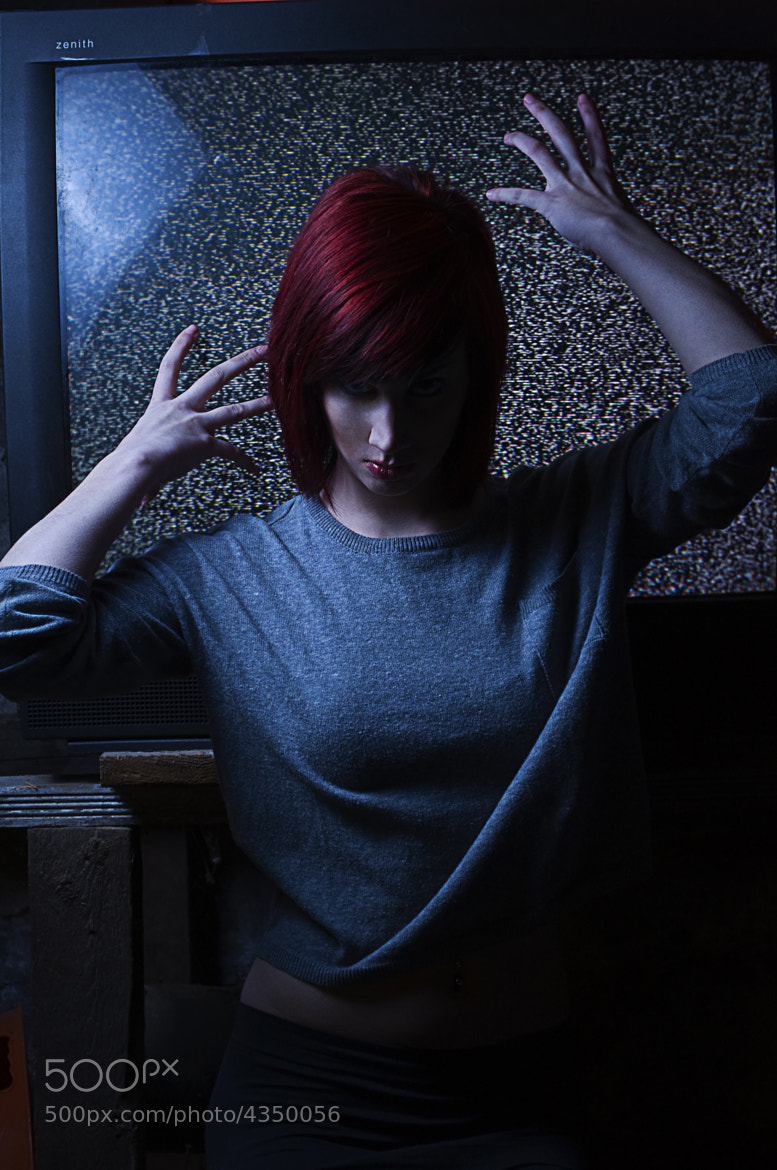 Photograph Christina Creeps on the Television by Greg Easton on 500px