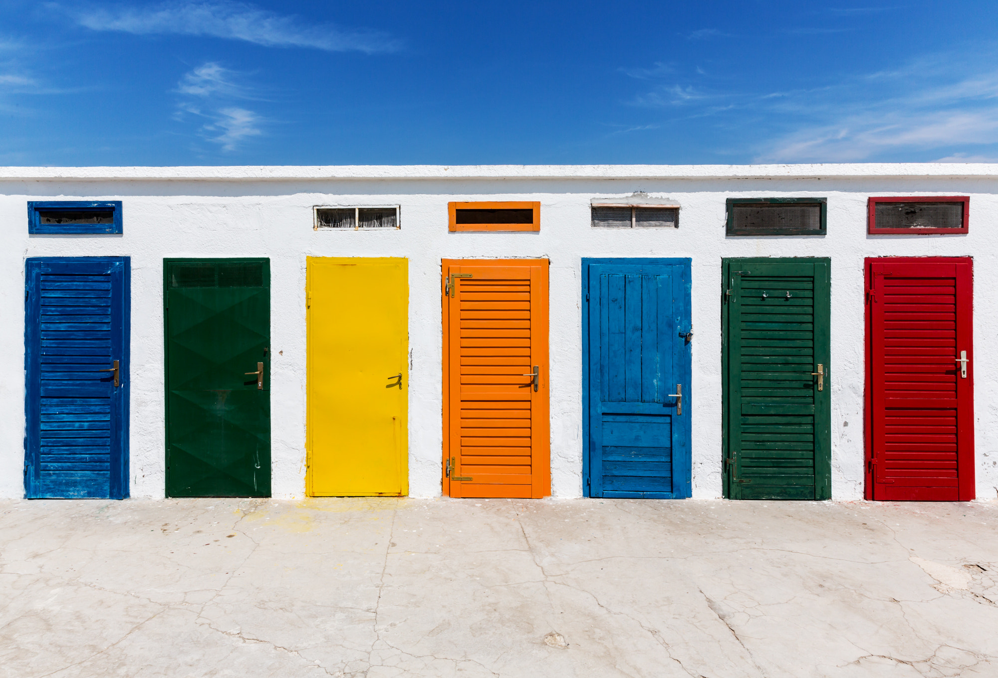 Photograph Colorful doors by Bernhard Omata on 500px
