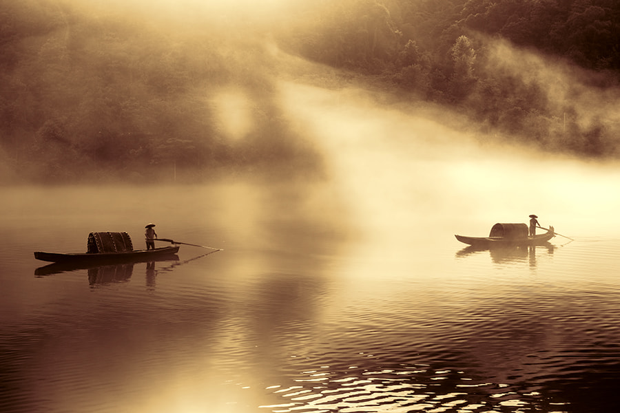 Photograph Dark and Bright by Alan Tan on 500px
