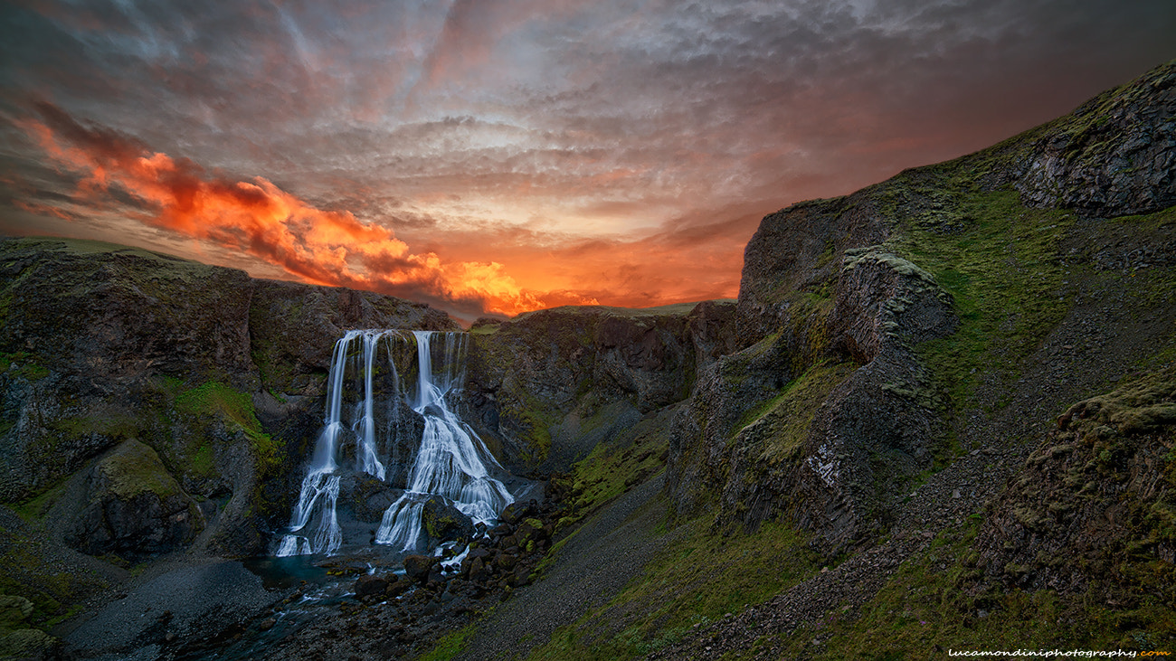 Photograph Fragrifoss falls by Luca Mondini on 500px