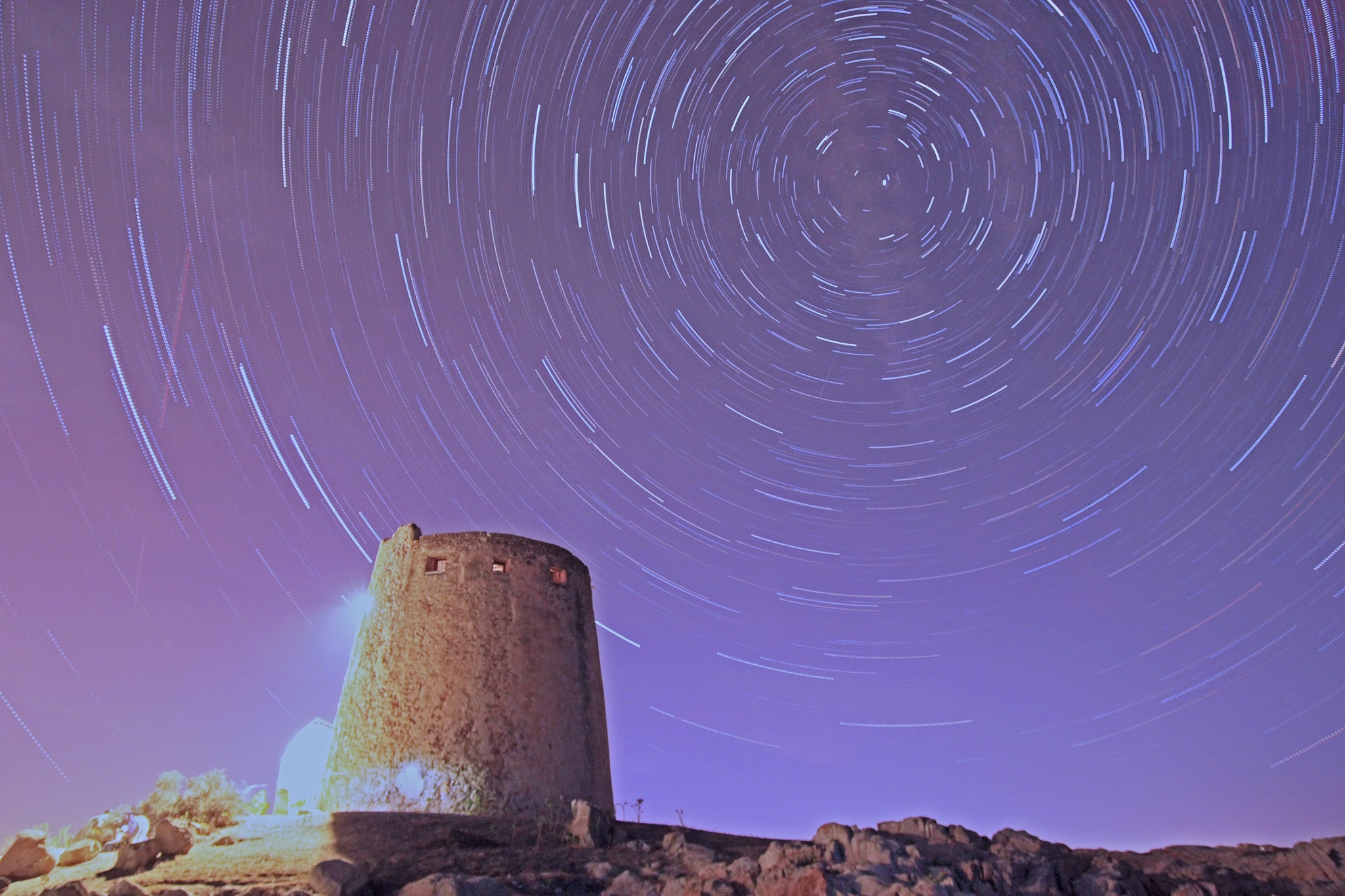 Photograph StarTrail - Torre di Barisardo by Massimo Pira on 500px