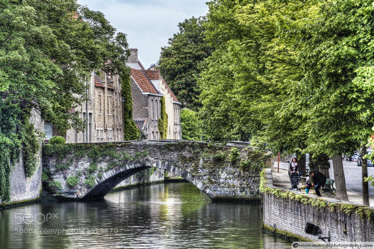 Photograph Meestraat Bridge in Bruges by Marc Garrido on 500px