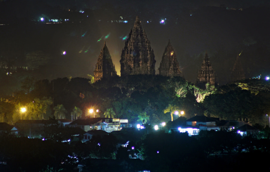 Photograph The Temple at The Night by teguh santosa on 500px