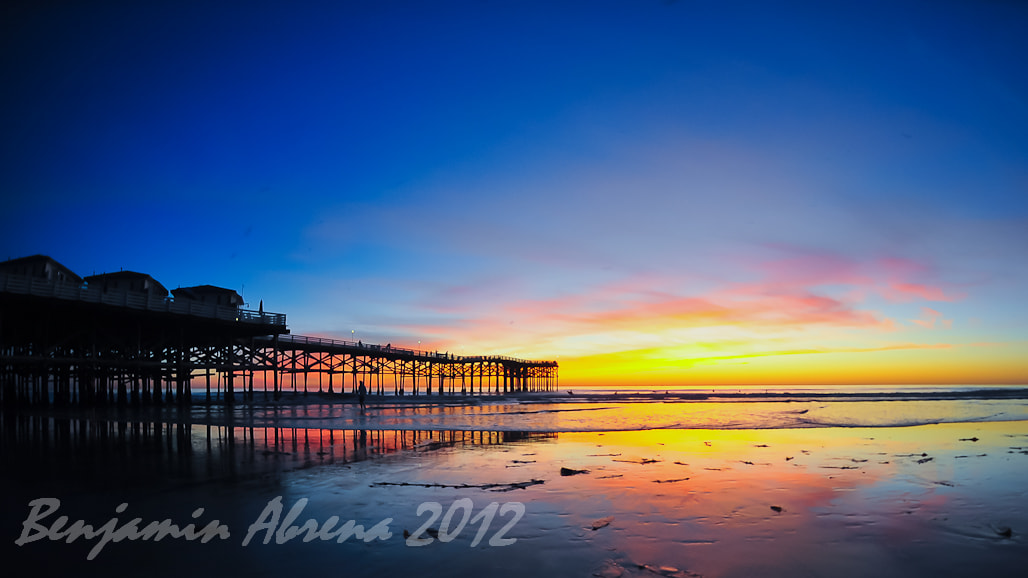 Photograph Crystal Pier by Ben Abrena on 500px