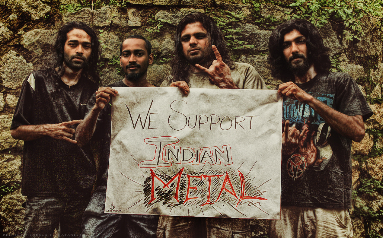 Photograph We SUPPORT INDIAN METAL !!! \m/ by Krishnachandran U on 500px
