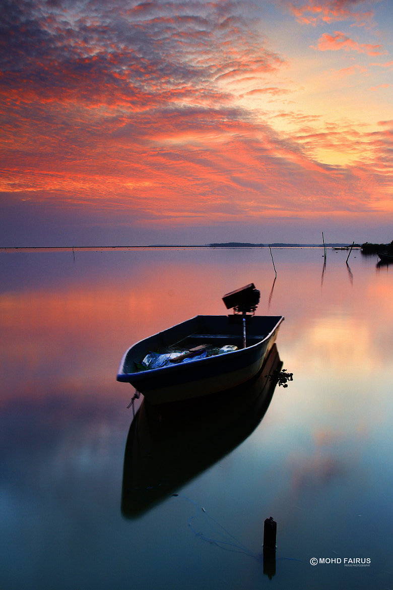 Photograph Jubakar Boat in first light on 8 Syawal 1434H by perus  on 500px